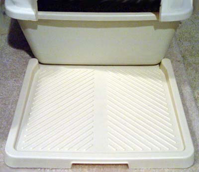 booda-mat : litter box on carpet - Aboutintivar.Com